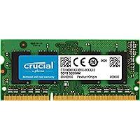 Crucial 英睿达 2GB单个DDR3 / DDR3L 1600 MT / S(PC3-12800)无缓冲SODIMM 204针内存-CT25664BF160B