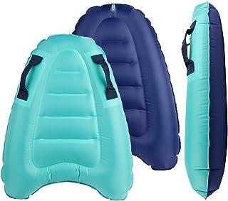 BIGTREE 充气冲浪车身板,轻质游泳充气浮板,带手柄便携式冲浪车身,适用于迷你沙滩冲浪游泳夏季水上乐趣