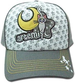 Sailormoon 男式 Artemis Anime 卡车司机帽