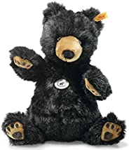 Steiff 113291JubiläumsausgabeJahre Original Soft Grizzly BAER Josey,140年周年纪念版,玩具约 27厘米,带耳扣的品牌毛绒玩具,出生时婴儿的可爱朋友,黑