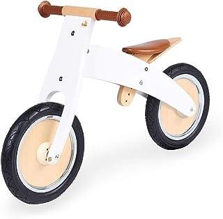 Pinolino 婴儿车 John 木制跑轮 无平台轮胎 可从Chopper 改装 适用于2岁以上儿童,白色喷漆