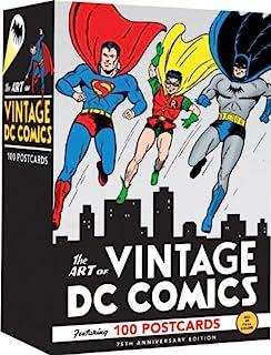 【亚马逊图书】The Art of Vintage DC Comics