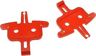RLECS 2 件自行车刹车片垫片液压盘制动器安装工具零件 MTB 自行车公路自行车配件维修工具,红色