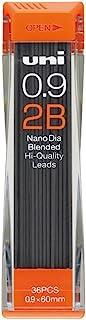 三菱铅笔 夏普芯 纳米钻石 0.9 U09202ND 2B 10個