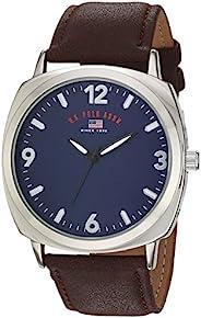 U.S. Polo Assn. 男式石英金屬休閑手表,棕色(型號:US5238)