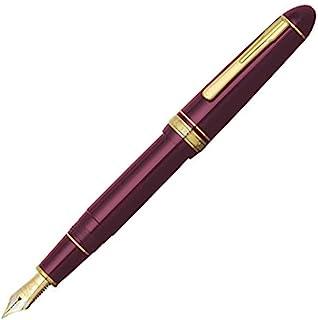 Platinum钢笔 钢笔 President 酒红色 超粗 PTB-20000P#10-5