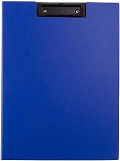 Nakabayashi 宽夹板 覆盖型/单片式 カバータイプ 蓝色