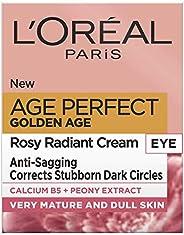 L'Oreal Paris 巴黎欧莱雅 Golden Age Rosy Glow 金致臻颜系列 牡丹紧致眼霜,