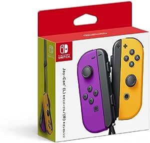 Nintendo 任天堂 Joy-Con(L)手柄 【任天堂正品】 霓虹紫/(R) 霓虹橙