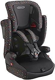 GRACO 葛莱 儿童*座椅(儿童及少年)Airpop 空气垫 カラフルドット(ブラック)