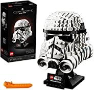 LEGO 乐高 75276 星球大战暴风兵头像雕塑, 成人高级收藏礼物