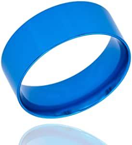 木质转弯环芯(8mm 蓝色铝,9)