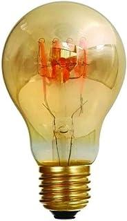 Girard Sudron 716660-LED GLS A60 LED 环形灯丝灯泡,E27(ES爱迪生螺丝盖),暖白色,200流明,可调光,4W,琥珀色