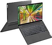 2021 Lenovo IdeaPad 5 笔记本电脑,15.6 英寸 FHD,8 核 AMD Ryzen 7 4700U(>i7-10710U)高达 4.1 GHz,Wi-Fi 6,背光 KB,网络摄像头,指纹,