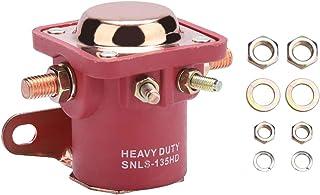 Qiilu 高灵敏度 12V 4 端子汽车替换重型起动电磁继电器开关适用于福特 B6AZ-11450-A