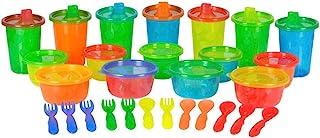 The First Years Take and Toss婴儿餐具组合包 28件套 颜色可能不同