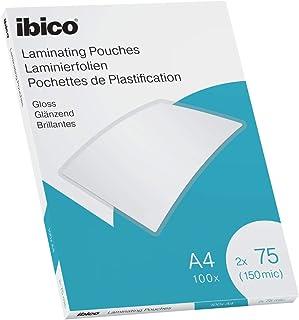 Lam.Pouch A4 75Mic Gloss IBICO 100 件