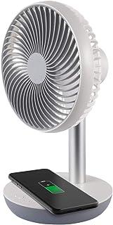 Ardes AR5F04WC CHARGY 便携式台式风扇 带感应充电 适用于智能手机 USB 插头 无线充电 3 个翅膀直径 15 厘米 5W