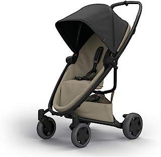 Quinny Zapp Flex Plus 都市婴儿推车,灵活小巧,双向斜倚座椅,6个月至3.5岁,黑沙色