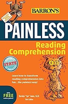 """Painless Reading Comprehension (Barron's Painless) (English Edition)"",作者:[Darolyn""Lyn"" Jones]"