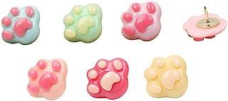 创意可爱糖果爪印形状图钉绘图别针 30 支装 爪印