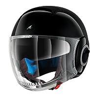 Shark 摩托車頭盔 Nano Blank,黑色,尺碼 M