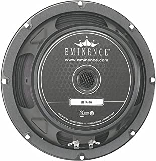 Eminence American Standard Beta 中/低音扬声器BETA8A 8 Inch, 225 W