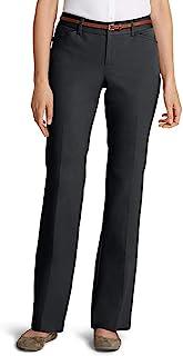 Eddie Bauer 女士 StayShape 斜纹裤 - 曲线款