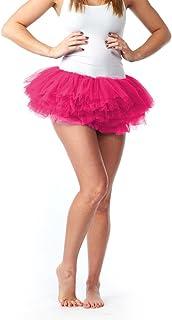 My Lello 女式青少年成人10层蓬松芭蕾舞短裙薄纱短裙