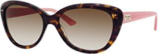 Kate Spade Angelique 蝴蝶女式太阳镜 + 免费赠送眼镜套装 Tortoise Blush/Brown Gradient 55