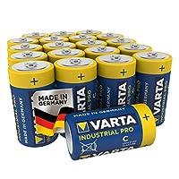 Varta LR14 Type C Baby Alkaline Batteries (Pack of 20)