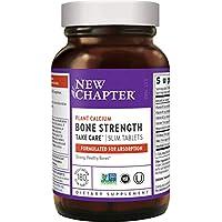 New Chapter新章 骨强度钙片 含Vitamin D3 + Vitamin K2 + Magnesium -180 粒