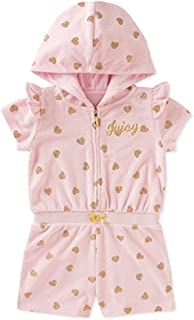 Juicy Couture 女童连帽连身衣