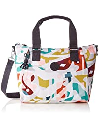 Kipling Womens Amiel Top-Handle Bag Multicolour