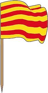 Garcia de Pou 旗帜小屋盒子里,木质,多种,4 x 2.5 x 6.5厘米