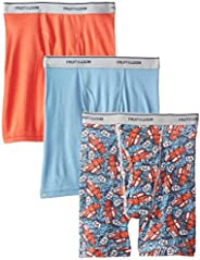 Fruit of the Loom Big Boys' Print And Solid Boxer B