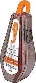 预言中性 – 成人 Flickzeugset 由 2 个轮胎杠杆组成,6 个自粘垫,1 件刷子,棕色,均码