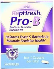 RepHresh Pro-B 益生素女性補充劑,60 支裝(2 包)
