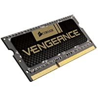 Corsair Vengeance 8GB (1x8GB) DDR3 1600 MHz (PC3 12800) Laptop Memory (CMSX8GX3M1A1600C10)
