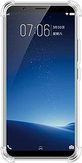 AMZER Pudding X Protection TPU 超薄软胶手机壳纤薄保护壳,适用于 Vivo X20 - 水晶透明纤薄防震 TPU