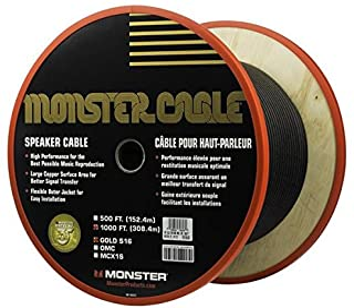 Monster MC GLD s16-1000 WW 扬声器电缆/AMP 黑色
