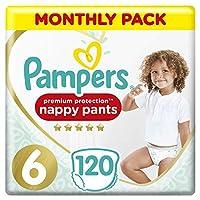 Pampers 高級保護睡褲每月儲藏包,輕觸皮膚,易穿的睡褲褲。