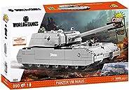 COBI 坦克世界 装甲车VIII Maus坦克模型,灰色
