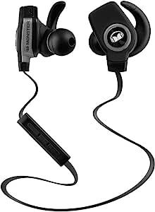 Monster 魔声 iSport Superslim 爱运动 无线蓝牙运动耳机 音乐手机耳机 线控带麦 黑色(137035)