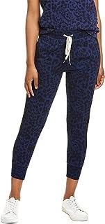 n:PHILANTHROPY 女式 Barkley 休闲中腰抽绳慢跑裤带侧条纹
