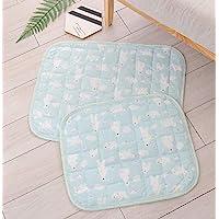 HAPPYPETDAYS 宠物冰丝猫和狗垫夏季凉爽舒适可机洗