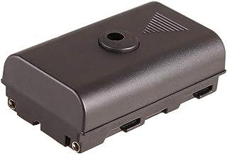 FOTGA FTNJ276 NP-F 假电池直流耦合器,适用于 NP-F970 NP-F960 NP-F770/F750/F550 电源视频 LED 灯相机显示器 YN300 II YN-600 W260 5080LED 5010LED 501...