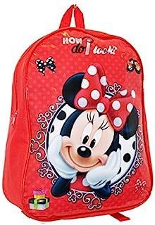 迪士尼字符儿童儿童大号衬垫学校背包健身运动帆布女孩男孩包