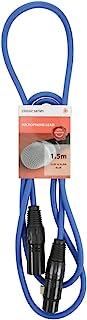 高级 XLR 公头 - XLR 母电缆190.092UK 蓝色 1.5m