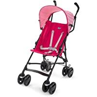 意大利 Chicco 智高 Snappy轻便婴儿推车 可折叠伞车(粉色) (适合6个月-3岁,0-15kg宝宝 防滑手柄…